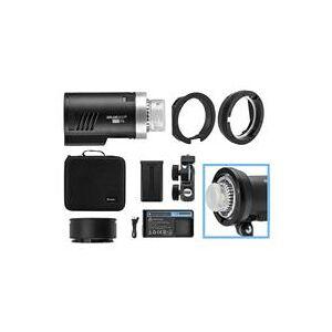 Flashpoint XPLOR 300 Pro TTL R2 Battery-Powered Monolight With Bowens Mount Kit
