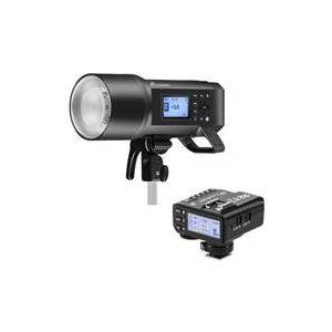 Flashpoint XPLOR 600PRO TTL Battery-Powered Monolight with Built-in R2 2.4GHz Radio Remote System (Bowens Mount) - Godox AD600 Pro + Flashpoint R2 Mark II ETTL 2.4 GHz Wireless Flash Trigger for Pentax (Godox X2)