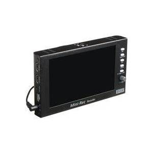 "Bon Monitors Mini-Rec 7"" On-Camera Recorder & Monitor with USB Storage"