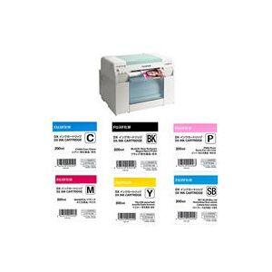 Fuji Frontier-S DX100 Inkjet Photo Printer - With Ink Bundle Consists Of Fuji DX VIVIDIA Ink Cartridge 200 ML Black / Cyan / Magenta / Yellow / Skyblue / Pink