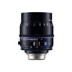 Zeiss 100mm T2.1 CP.3 Compact Prime Cine Lens (Feet) CF Sony E Mount