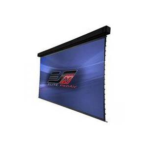 "Elite Screens Elite ProAV Tension Pro 300"" CineWhite UHD Large-Venue Motorized Retractable Electric Drop Down Projector Screen"