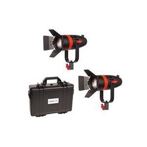 Came-TV Boltzen 55W Bi-Color Fresnel Focusable LED 2-Light Kit with Hard Carrying Case