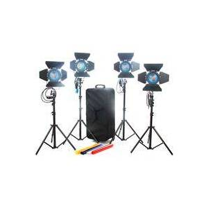 Came-TV 4 x 650W Fresnel Tungsten Continuous Video Lights