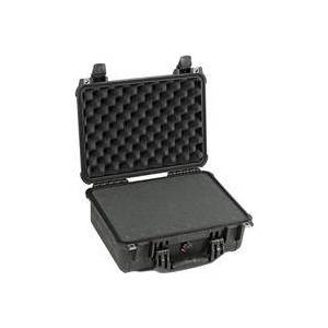 Pelican 1450 Watertight Hard Case with Foam Insert - Black
