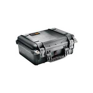 Pelican 1450 Watertight Hard Case with Padded Dividers - Black