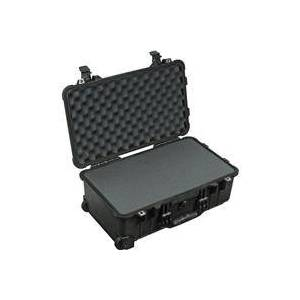 Pelican 1510 Watertight Carry On Hard Case with Foam Insert & Wheels - Charcoal Black
