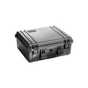 Pelican 1550 Watertight Hard Case without Foam Insert - Black