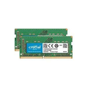Crucial 64GB (2x 32GB) DDR4 2666 MT/s PC4-21300 SODIMM Memory Module Kit for Mac