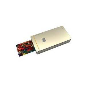 Kodak PM-210G - Photo Printer Mini (Gold) for iPhone and Android