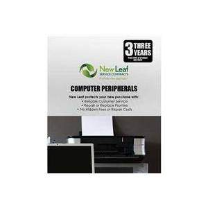 New Leaf 3 Year Computer Peripheral Service Plan for Products Retailing up to $750.00