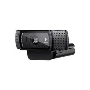 Logitech C920 HD Pro Webcam, 1080p / 720p Widescreen Mode, Autofocus System, Hi-Speed USB 2.0