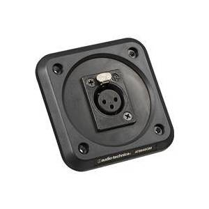Technica Audio-Technica AT8646QM Microphone Shock Mount Plate for Pulpits/Lecterns/Conference Tables, XLR Female Connector Mount