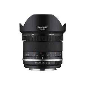 Samyang MK2 14mm f/2.8 Weather Sealed Ultra Wide Angle Lens for Nikon with Built-In AE Chip