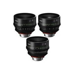 Canon 3 Pack SUMIRE PRIME Lenses With CN-E24mm T1.5 FP X (PL Mount) Lens - CN-E50mm T1.3 FP X (PL Mount) Lens - CN-E85mm T1.3 FP X (PL Mount) Lens