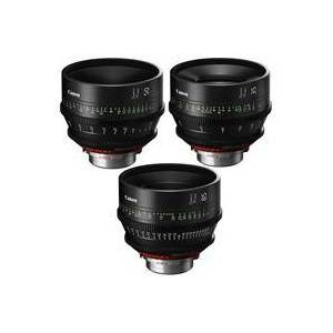 Canon Pack SUMIRE PRIME Lenses With CN-E35mm T1.5 FP X (PL Mount) Lens - CN-E50mm T1 3 FP X (PL Mount) Lens - CN-E85mm T1.3 FP X (PL Mount) Lens