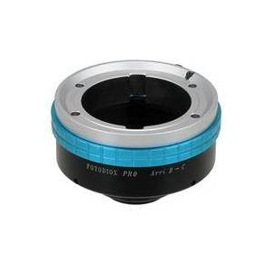 """Fotodiox Pro Lens Mount Adapter for Arri Bayonet (Arri-B) Mount Lens to C-Mount (1"""" Screw Mount) Cine & CCTV Camera Body"""