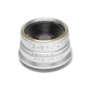 7artisans Photoelectric 25mm f/1.8 Lens for Fujifilm X Mount - Silver