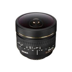 Sigma 8mm f/3.5 EX DG Circular Fisheye Auto Focus Lens for Nikon AF-D Cameras - USA Warranty