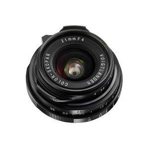 Voigtlander Color-Skopar 21mm f/4.0 Pancake Lens with Leica M Mount - Black