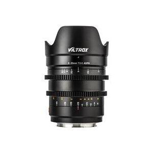 Viltrox MF S 20mm T2.0 ASPH Wide Angle Lens for Panasonic L-Mount Full-Frame Digital Camera