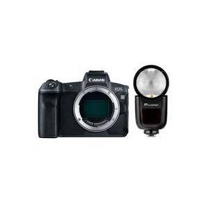 Canon EOS R Mirrorless Digital Camera with Flashpoint Zoom Li-On X TTL Speedlight