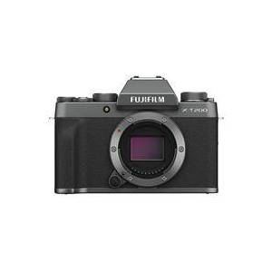 Fuji X-T200 Mirrorless Digital Camera Body - Dark Silver
