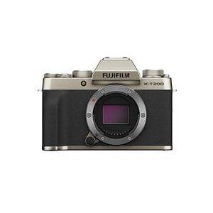 Fuji X-T200 Mirrorless Digital Camera Body - Champagne Gold