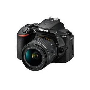 Nikon D5600 DSLR with AF-P DX NIKKOR 18-55mm f/3.5-5.6G VR Lens