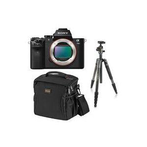 Sony Alpha a7 II Mirrorless Digital Camera Bundle with Tripod