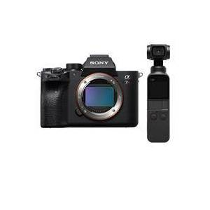Sony a7R IV Mirrorless Digital Camera Body - With DJI Osmo Pocket 3-Axis Gimbal Stabilized Handheld Camera
