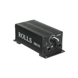 Rolls DB25B Single Channel Passive Direct Box with Attenuator and Ground Lift Switches