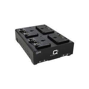 Core SWX FLEET-Q4A 3A Four-Position Gold Mount Simultaneous Charger for Four 98Wh Batteries