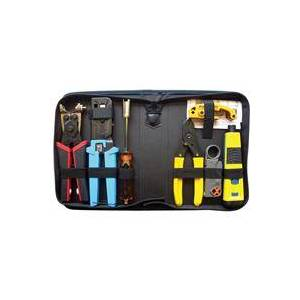 Platinum Tools PRO Twisted Pair & Coax Termination Kit with Zip Case