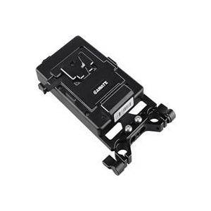 CAMVATE V-Lock Battery Plate with Power Supply Splitter and 15mm Rod Clamp