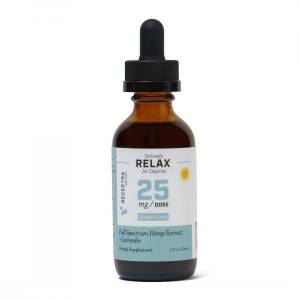 Receptra Seriously Relax + Lavender Tincture 25mg /dose