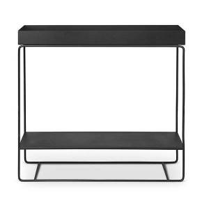 Ferm Living Standing Plant Box Two-Tier - Color: Black - 110206101