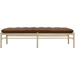Carl Hansen OW150 Daybed - Color: Brown - OW150 DAYBED- OAK SOAP - SIF 95