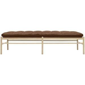 Carl Hansen OW150 Daybed - Color: Brown - OW150 DAYBED- OAK WHT OIL- SIF 95