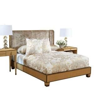 Global Views D'Oro Bed - Color: Brown - AG2.20000
