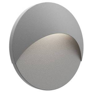 SONNEMAN Lighting Ovos Round LED Outdoor Wall Sconce - Color: Grey - Size: 1 light - 7460.74-WL