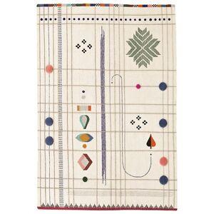 "Nanimarquina Rabari 1 Rug - Color: Cream - Size: 9 ft 10"" x 13 ft 1"" - 01RAB0010005"