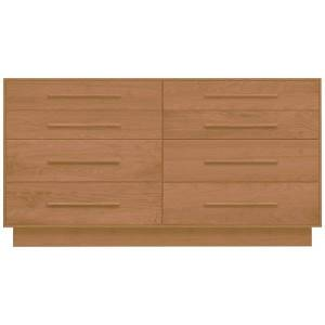 Copeland Furniture Moduluxe 35-Inch 8 Drawer Dresser - Color: Wood tones - 2-MOD-80-03