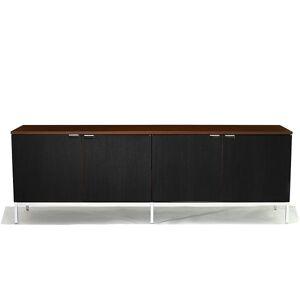 Knoll Florence Knoll Four Cabinet Credenza - Color: Chrome - 2544M-C-E-MV-W - Knoll Authorized Retailer