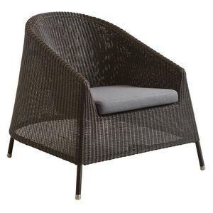 Cane-line Kingston Lounge Chair Seat Cushion - Color: Grey - 5450YSN95
