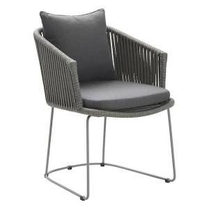 Cane-line Moments Cushion for Dining Chair - Color: Grey - 7441YSN95