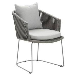 Cane-line Moments Cushion for Dining Chair - Color: Grey - 7441YSN96
