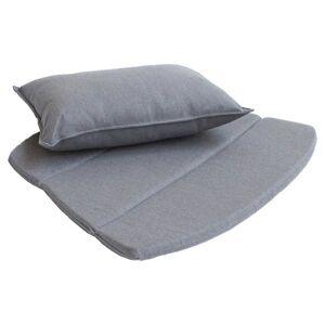 Cane-line Breeze Lounge Chair Cushion Set - Color: Grey - 5468YSN95