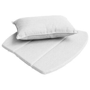Cane-line Breeze Lounge Chair Cushion Set - Color: White - 5468YSN94