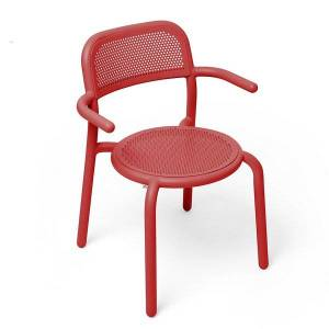 Fatboy Toni Outdoor Armchair - Color: Red - TARM-INRD